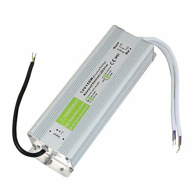 LED Strip Waterproof IP67LED Driver Power Supply Transformer DC 12V 150W