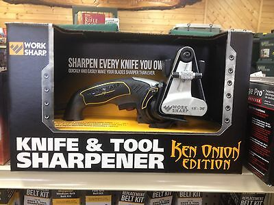 Work Sharp Ken Onion Edition Knife & Tool Sharpener, WSKTS-KO
