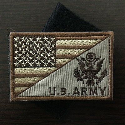 U.S. ARMY American Flag USA Military Tactical Morale Badge Decal Cap SWAT Patch