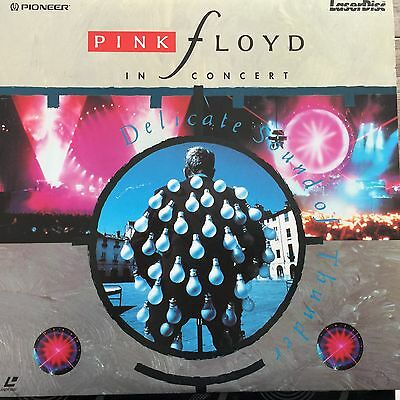 Pink Floyd In Concert: Delicate Sound Of Thunder - PIONEER EDITION - LASERDISC