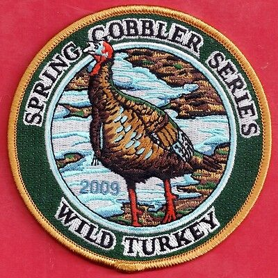 "Pa Pennsylvania Game Fish Commission 2009 Spring Gobbler Turkey Series 4"" Patch"
