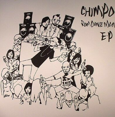 """CHIMPO - Ram Dance Man  Ep - Vinyl (12"""") Exit Drum And Bass"""