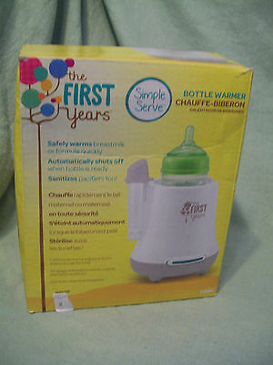 The First Years Baby Pro Bottle Warmer, Simple Serve
