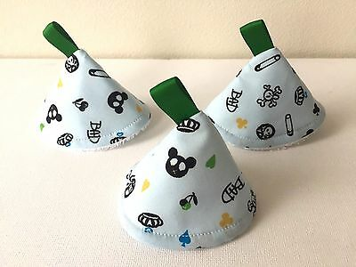 Blue Bad - Pee Pee TeePee x 3. For the Sprinkling Wee Wee. Baby Shower /Gift