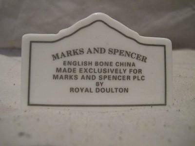 Royal Doulton For Marks & Spencer Bone China Point Of Sale Advertising Plaque