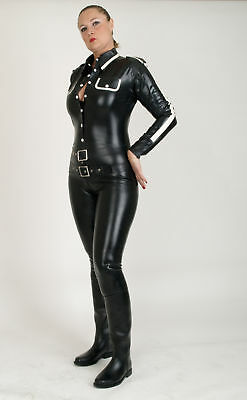 Latexanzug Ganzanzug Military Latex 0,4mm rubber Catsuit Herren Damen Uniform