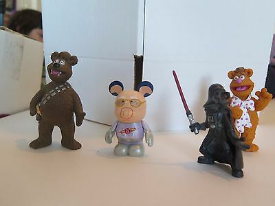 Lot of Star Wars Muppets and Muppets - Disney & Palisades