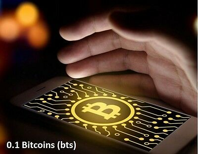 0.1 BITCOIN - Super fast transfer to your BTC wallet address after funds verify.