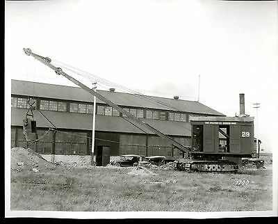Real Photo of the Marion OSGOOD Steam  Shovel 29 Outside of Plant