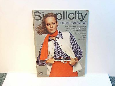 Simplicity Home Catalog Spring/Summer 1969 Fashions on the way up