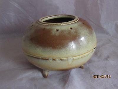 Frankoma Pottery Party Pow Wow Table Bar-b-q. Mold #825 Patent #176914