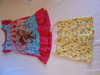Children's Place & More Toddler Girl Pajama Lot - 24 Months And 2T - Guc!