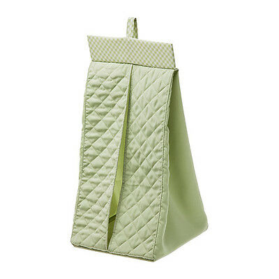 New IKEA NANIG Light Green Diaper stacker OR wall pocket