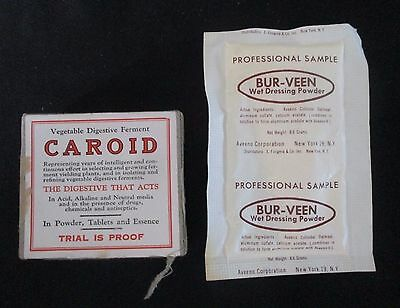 10 Antique Original Medical Physician Pharmacy Items. 1900s