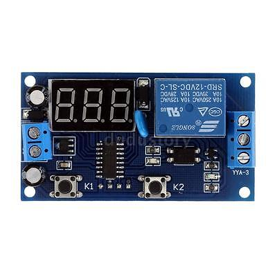 12V Multifunction Relay Cycle Timer Module Delay Time Switch Control Board C9I3