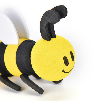 Cute Car Antenna Toppers Smiley Honey Bumble Bee Aerial Ball Antenna Topper LWY