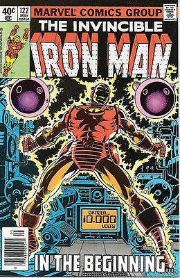 Iron Man Comic Book #122, Marvel Comics 1979 NEAR MINT