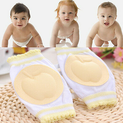 Infants Toddler Baby Knee Cushion Elbow Pads Crawl Safety Crawling Protector new