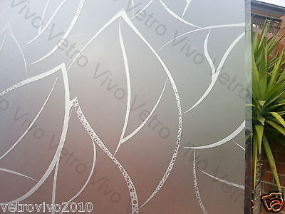 90 CM x 1 M - VENTOLA Removable Privacy Frosted Window Glass Film for privacy