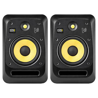 "KRK V8 S4 Studio Monitor Pair 8"" Reference Speakers"