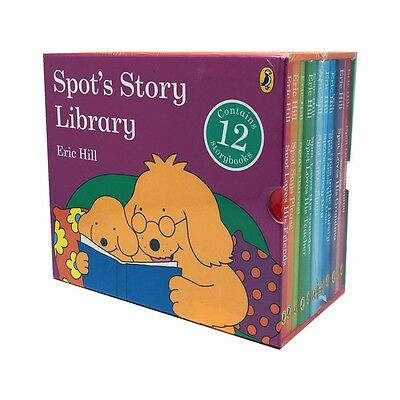 Spot's Story Library 12 Books Book Collection Box Set by Eric Hill