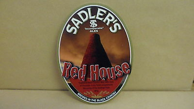 Sadlers Red House Ale Beer Pump Clip face Bar Collectible 29