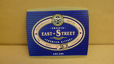 RCH East Street Bitter Ale Beer Pump Clip face Bar Collectible 68