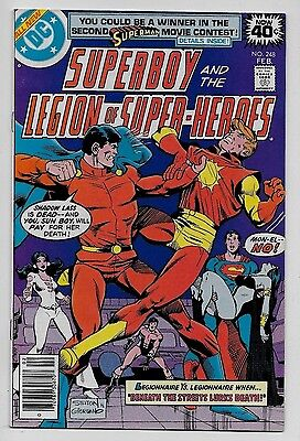 Superboy & the Legion of Super-Heroes #248 NM- 9.2 DC 1979 Joe Staton cvr Mon-El