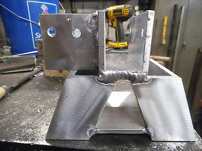 HEAVY DUTY aluminum sawhorse brackets with side dog (Sold by pair)