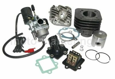 50cc CILINDRO TESTA + CARBURATORE KIT COMPLETO per KEEWAY F-ACT CITY 50