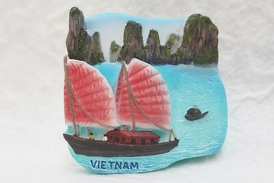 HALONG BAY VIETNAM Resin 3D Fridge Magnet Souvenir Tourism Travel Gift Asia