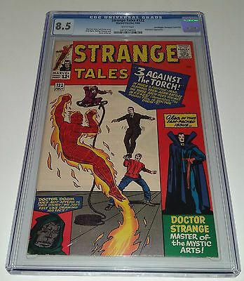 Strange Tales #122 CGC 8.5 White Pages Marvel Comics 1964 Dr. Strange DEAL!!!