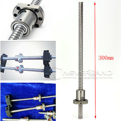 SFU1204 L300mm Rolled Ball Screw C7 with 1204 For BK/BF10 End Machined CNC NEW