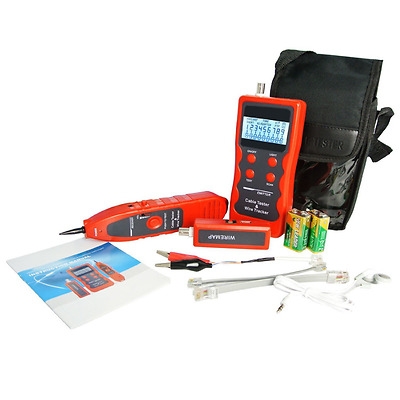 Network Ethernet Cable Tester 5E 6E LAN Telephone Wire Coaxial BNC USB and 1394