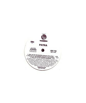 "[YX07512] Patra ""Pull Up To The Bumper""  - 12, Promo 550 Music ABD 7193"