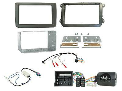 Connects2 CTKVW16 Double Din Stereo Fitting Kit ForVW Jetta 2015 >
