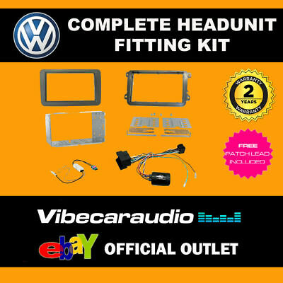 Connects2 CTKVW16 Double Din Stereo Fitting Kit For VW Tiguan 2015>