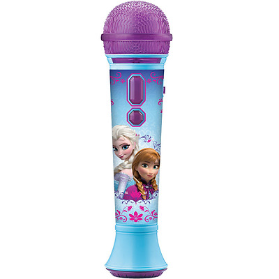 KIDdesigns Disney Frozen Magical MP3 Microphone, New, Free Shipping.