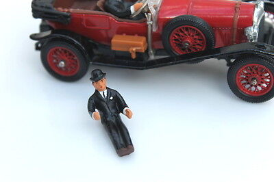 Corgi 9004 World of Wooster Jeeves Driver Figure (Reproduction - Painted)