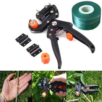 Garden Tree Pro Pruning Shears Scissor Grafting Cutting Tool + 2 Blades + 1 Tape