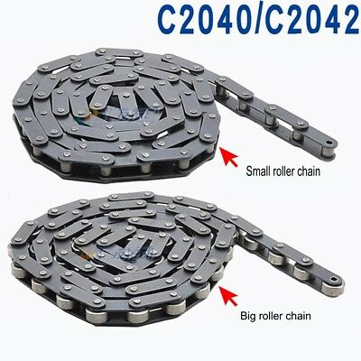 C2042/2040 Double Pitch Conveyor Chain C208AL/C208A Roller Chain x 1.5Meters