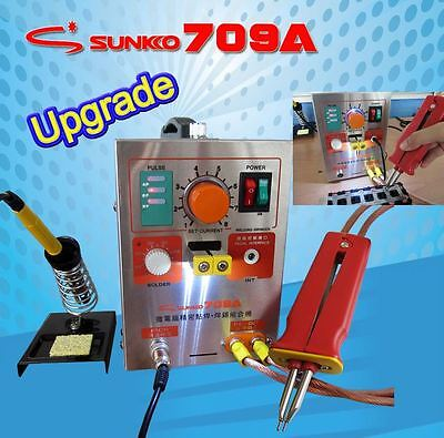 High Power Pulse Spot Welder Sunko 709A Battery Lithium Welding Machines