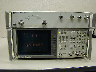 8753C Network Analyzer And 85046A Test Set