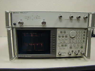 HP 8753C Network Analyzer And 85046A Test Set