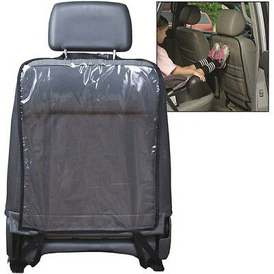 Universal Car Rear Seat Protector Cover Pad for Child Baby Kick Mat Transparent