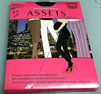 BNIP Marvelous Mama ASSETS by Sara Blakely Terrific Maternity Tights Sz 1
