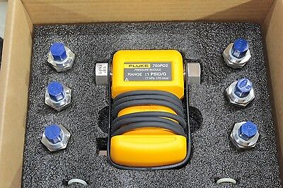 New Fluke 750PD2 Pressure Process Calibrator Module -1 to 1 PSI / -70 to 70 mbar
