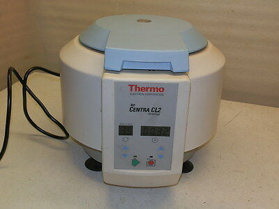 Thermo Centra IEC  CL-2 Centrifuge With # 221 Rotor & Buckets  -  Please Read  -