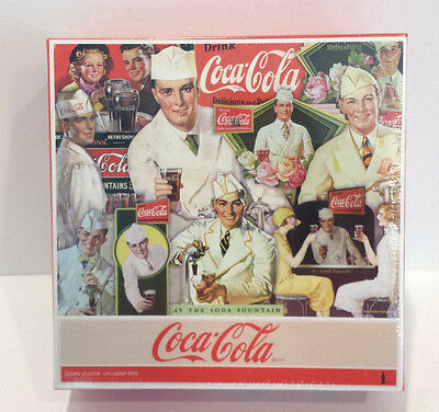 550 Piece Majestic Puzzle Co Coca-Cola At The Soda Fountain