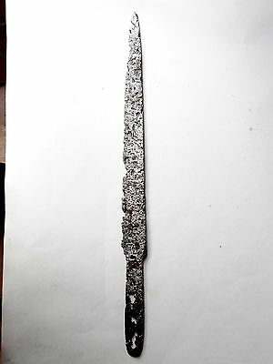 ▇ Superb Middle Age Iron Dagger 12/14 Th Century Blade Knife South Germany  39Cm